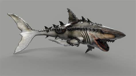 ArtStation - Monster Shark, Christian Freitag