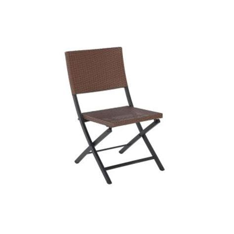 folding patio chairs home depot martha stewart living franklin park wicker folding patio