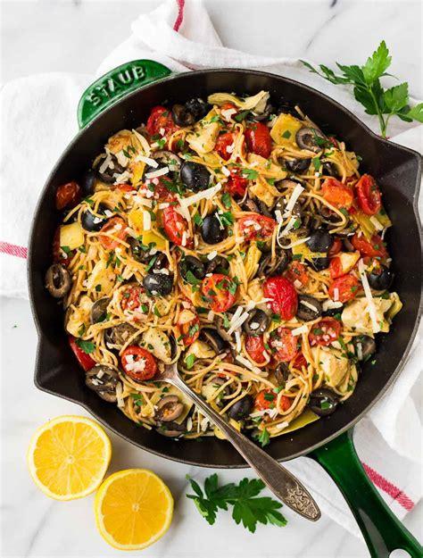 mediterranean pasta fast healthy pasta recipe