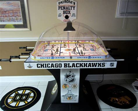 super chexx bubble hockey custom painted palyers