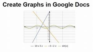 how to create a graph in google docs With google docs add graph