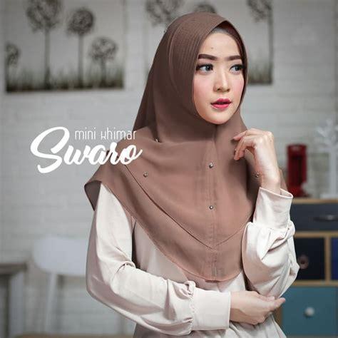 hijab instan mini khimar swaro simple  terbaru trend fashion style hijab  terbaru