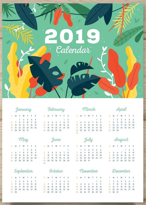 Calendar Month Template Hand by One Page Calendar 2019 Monthly Calendar Templates