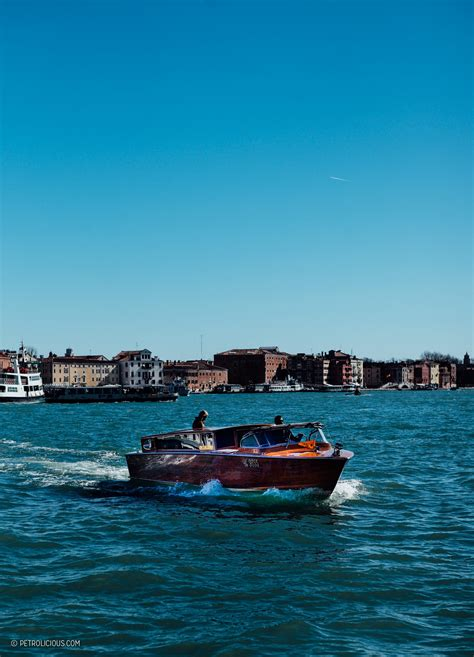 Riva Boats Venice by The Classic Mahogany Riva Limousines Of Venice Petrolicious