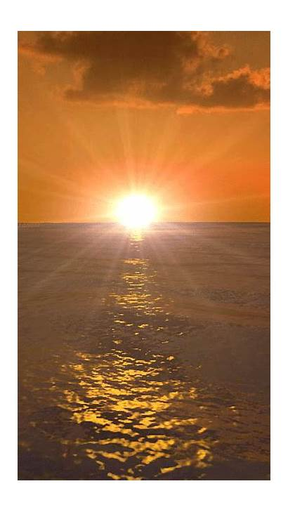 Sunset Morning Sea Nature Welcome Ownskin Water