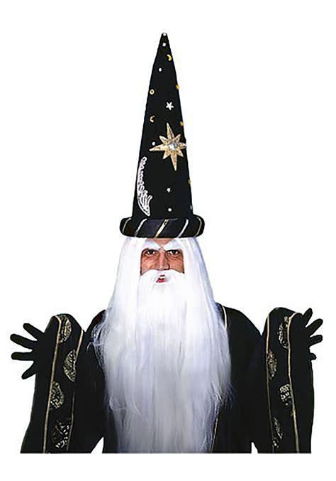 White Wizard Wig and Beard - Wizard Costume Wigs