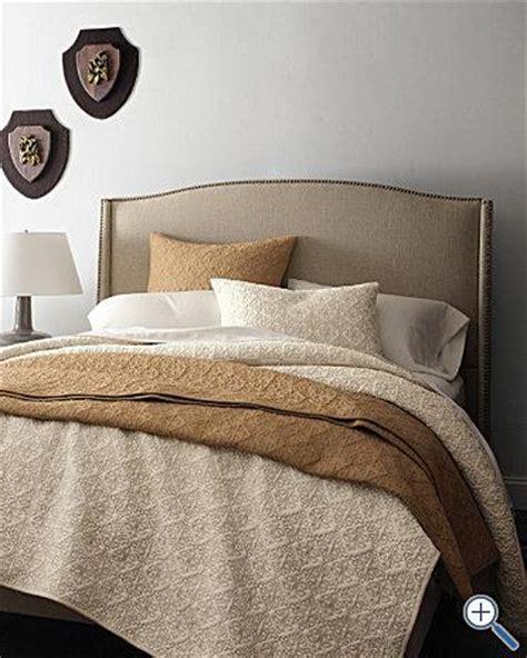 Wingback Upholstered Bed  Garnet Hill