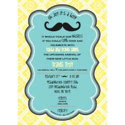 baby brunch invitations handsome boys baby shower printable invitation card with