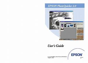 Epson Photo Quicker 2 Users Guide Service Manual Download