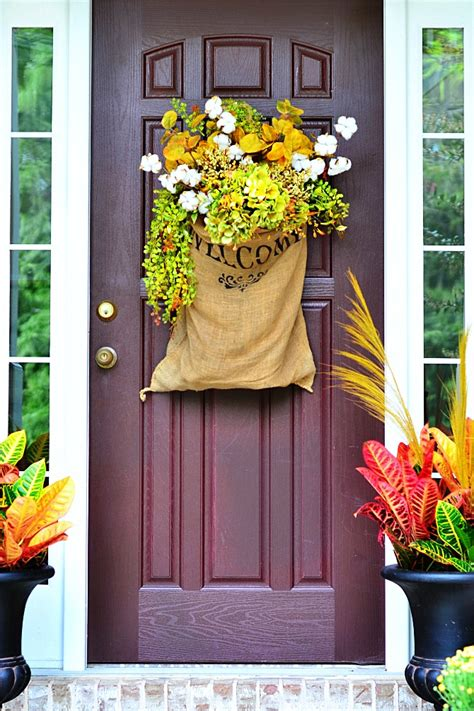 15 Fall Door Decorations  Ideas For Decorating Your Front