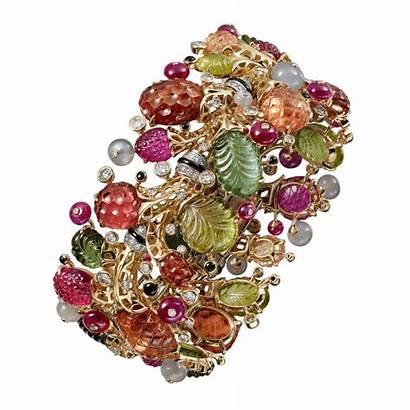 Cartier Jewellery Resonances Bracelet Ruby Gold Jewelry
