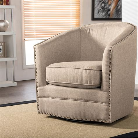 baxton studio porter contemporary beige fabric upholstered