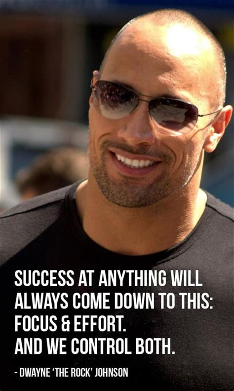 Top Ten Dwayne (the Rock) Johnson Quotes