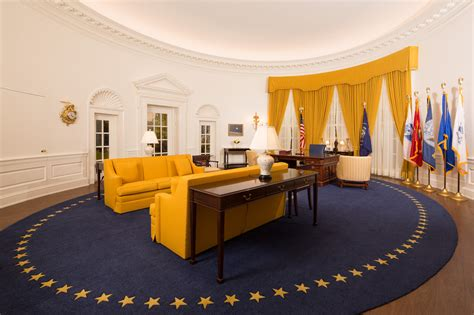 President Nixon's Oval Office Now On Display At Nixon Library