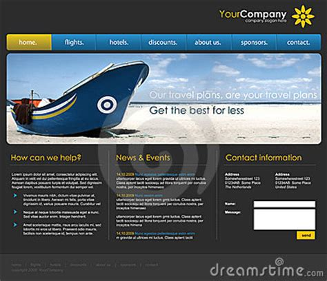 professional website templates professional website template royalty free stock photos image 10404938