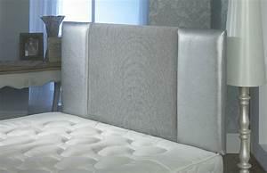 Oxford Chenille Faux Leather Headboard