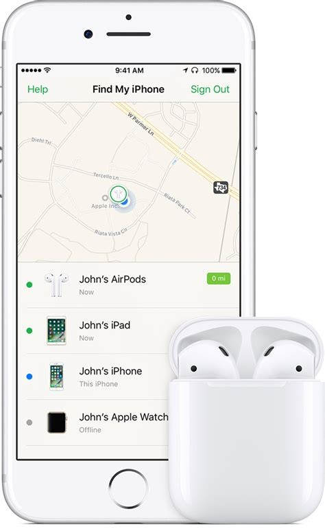 find my phone through how to find your lost airpods using find my iphone