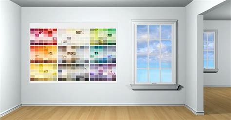 glidden paint has a color visualizer for a room in which