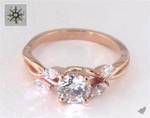 rose gold engagement rings under 3000 With wedding rings under 3000