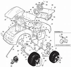 Power Wheels State Trooper Parts