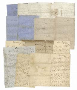 virginia civil war letters lot sell for 13500 at With civil war letters for sale