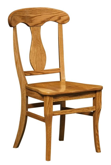 light brown wooden chair with high back and curving