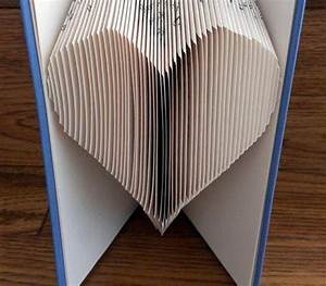 Book Folding Pattern  Heart