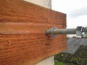 Fixer Une Télé Au Mur : fixer madrier mur ~ Premium-room.com Idées de Décoration