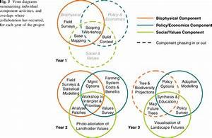 Venn Diagrams Summarising Individual Component Activities