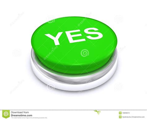 Knop Verden by Green Yes Button Stock Photography Image 16839672