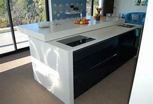 Ilot Cuisine Table : ilot cuisine table ilot central cuisine table elegant ~ Teatrodelosmanantiales.com Idées de Décoration