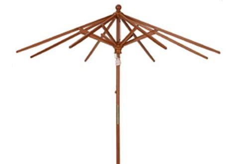 11 wood market umbrella frame only umbrella source