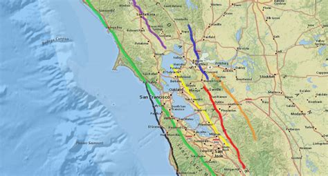 Which fault line do I live on? A guide to the major Bay ...