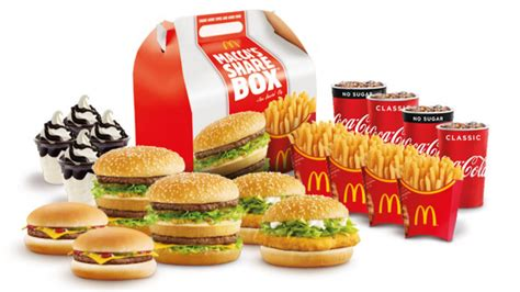 Mcdonald's Now Selling Family Share Box But There's A Catch