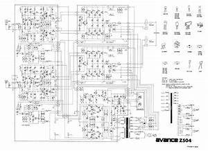 Luxman Avance Z504 Sch Service Manual Download  Schematics  Eeprom  Repair Info For Electronics