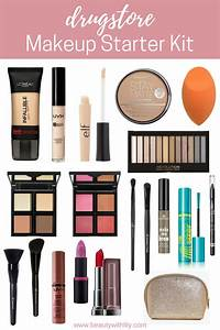DRUGSTORE MAKEUP STARTER KIT FOR BEGINNERS