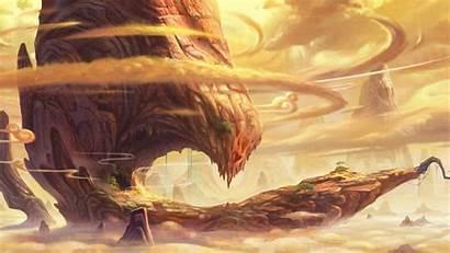 Landscape Fantasy Epic Wallpapers Desert Backgrounds Plains