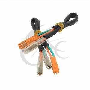 2x Turn Signal Wiring Adapter Plug For Honda Cbr 600 Rr