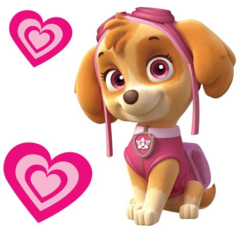 skye paw patrol totally movable wall sticker decal easy