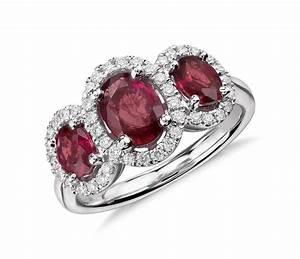 sapphire diamond rings ruby diamond wedding promise With wedding rings with rubies and diamonds