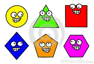 geometry shapes clipart royalty  stock images image