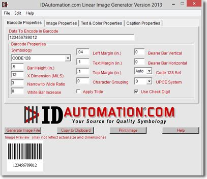 Character Generator Data Template Xml by Barcode Image Generator Software For Mac And Windows