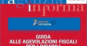 Agevolazioni fiscali disabili 2013: novità nella guida dell Agenzia delle Entrate InvestireOggi it