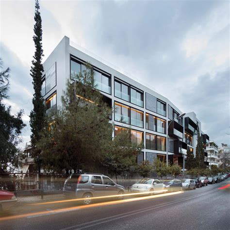 athens apartment building  divercity architects