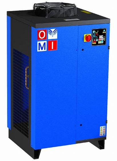 Air Refrigerated Compressed Dryer Dryers Cooled