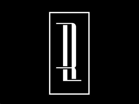 rl monogram  cristian preda dribbble dribbble