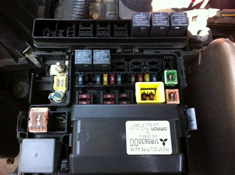 04 Mitsubishi Galant Fuse Box by Question About Relay