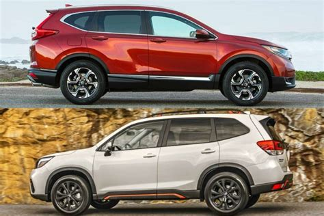 Crv Vs Subaru Forester by 2019 Honda Cr V Vs 2019 Subaru Forester Which Is Better