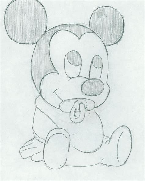 baby mickey mouse  tobiuchiha  deviantart