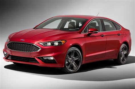 ford fusion refreshed  detroit adds  hp